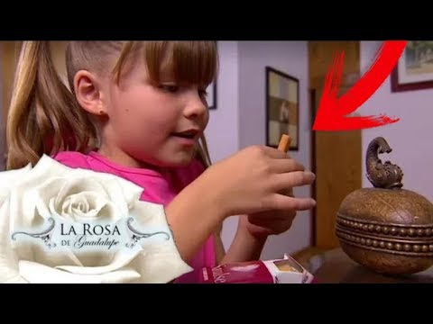 NIÑOS de 7 años FUM4NDO?..😤- CRITICA a La ROSA de GUADALUPE.