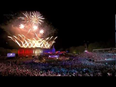 Diamond Jubilee Concert Fireworks Finale 2012