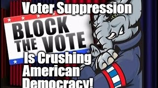 Crazy New Levels Of Voter Suppression Spread Across The Country