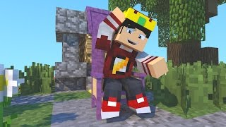 Minecraft: SKY WARS PARAQUEDAS - EDU REI DO BREK ‹ AM3NIC ›