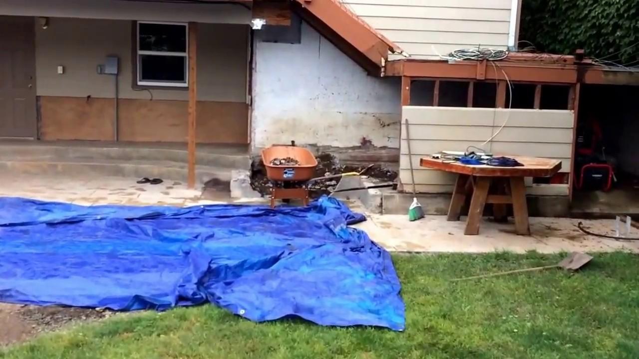 more backyard demo youtube