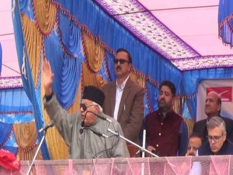Farooq Abdullah dares India to take back PoK from Pakistan