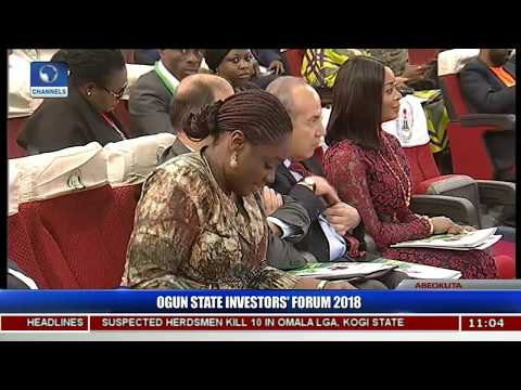 Amosun Counts Successes Of Earlier Forums, Assures New Investors Of Gain Pt.1 |Ogun Investors'Forum|