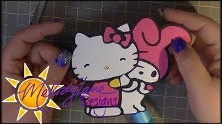 Hello Kitty And Friends Svg