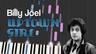 Billy Joel - UPTOWN GIRL (Piano Tutorial)
