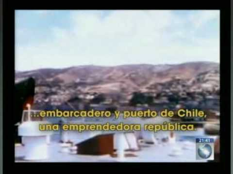 Interesante primer documental de Chile en 1937 a color