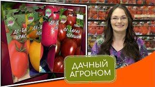 ДЕ БАРАО: СУПЕР ТОМАТЫ НА ВАШЕЙ ГРЯДКЕ Высокорослые помидоры от Дачного агронома