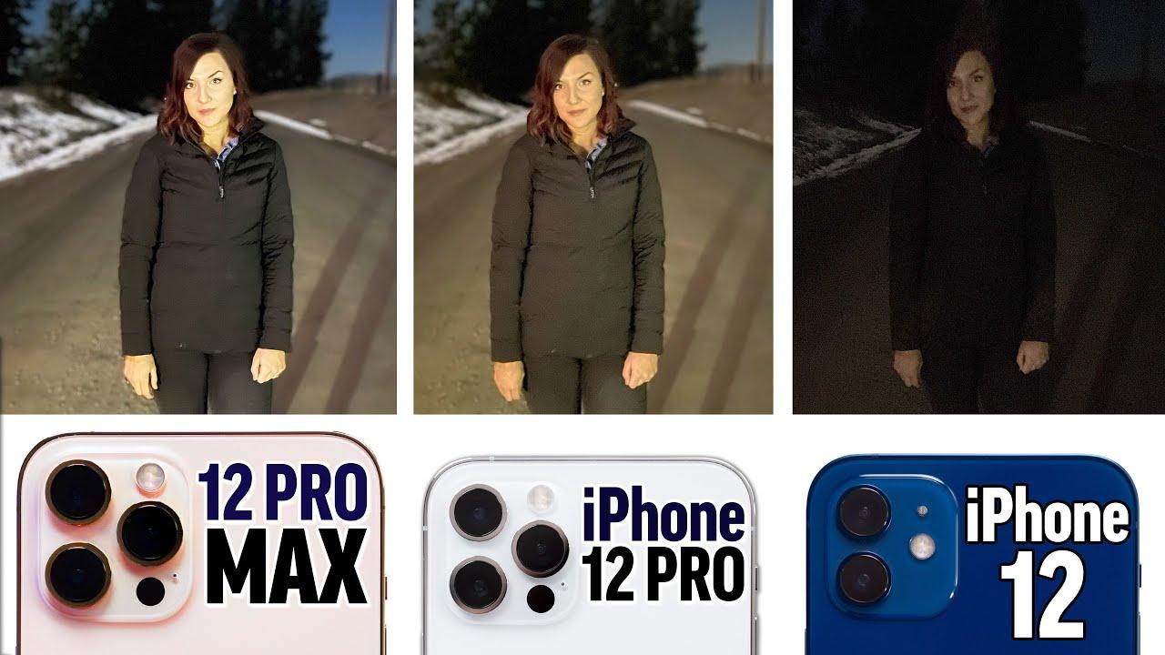 iPhone 12 Pro Max vs 12 Pro vs 12 - Honest Camera Comparison!