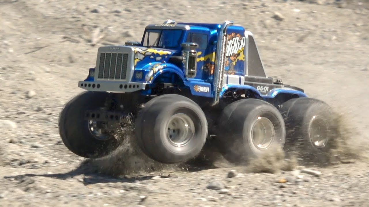 radio controlled monster truck with Watch on Pictures videos likewise Terrier Tank Swiss Army Knife Of  bat Vehicles additionally G 24922 model Revell Rc revell radio controlled dump truck also Watch further 339724.