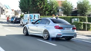 LOUD BMW M3 F80 w/ M Performance Exhaust - Powerslides, Accelerations & Revs !