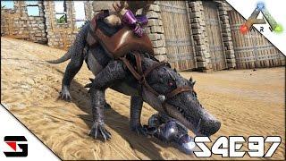 ARK: Survival Evolved S4E97 Kaprosuchusをテイム!