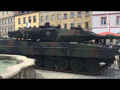 Обзор танка Леопард 2 в Германии