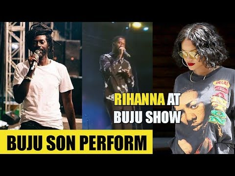 Buju SON Perform At Concert | REASON Buju MASH Up Marcus | Rihanna In Jamaica