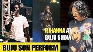 Buju SON Perform At Concert | REASON Buju MASH Up Marcus | Rihanna In Jamaica