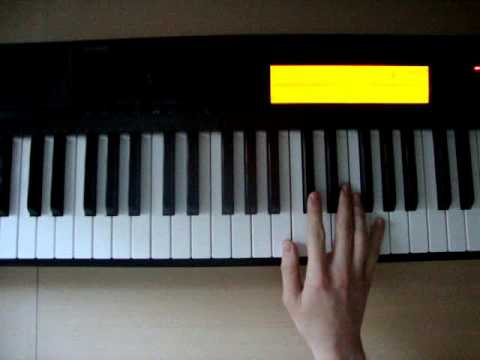 C#m7b5 - Piano Chords - How To Play - YouTube