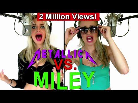Gabriela Gunčíková - Metallica VS. Miley - Who Are You?