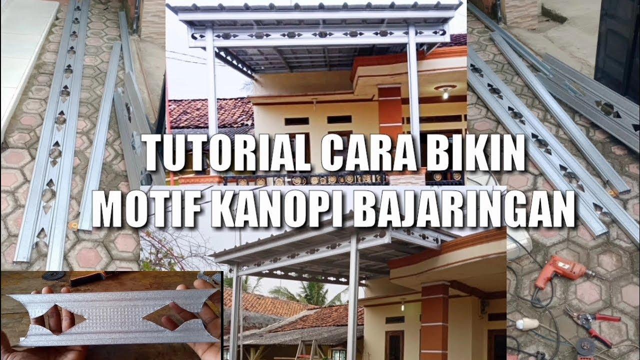 Download CARA BIKIN MOTIF KANOPI BAJA RINGAN