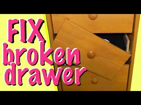 Broken Drawer And A Easy Repair