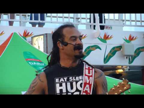 Good to be alive today Michael Franti Live Rockboat 16 January 2016