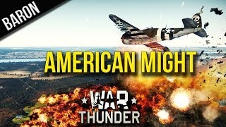 War Thunder - The Mighty American .50 Caliber Machine Guns (Ground Forces Tank Challenge)