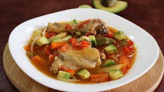 Cómo hacer pollo a la jardinera con verduras, muy fácil de hacer y con un resultado delicioso 😱🍗🤤