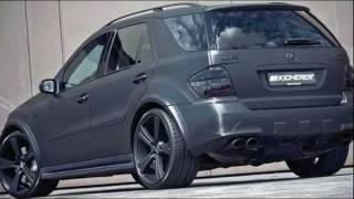 Mercedes ML63 Carbon Series by KICHERER 2011 Videos