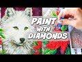 PAINTING WITH DIAMONDS?! Diamond Dotz Demo & Review   SoCraftastic