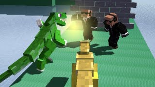 Blocky Dino Park: Raptor Attack · Game · Gameplay