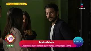 ¿Diego Luna y Marina de Tavira…