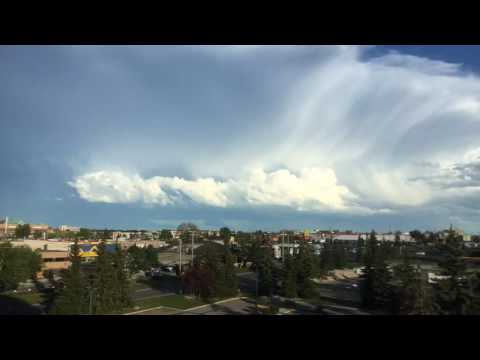 Hi Def Version Of Post Hailstorm July 4th Calgary East