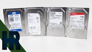 Die beste Festplatte? Festplatten Test & Review | Seagate Toshiba Western Digital