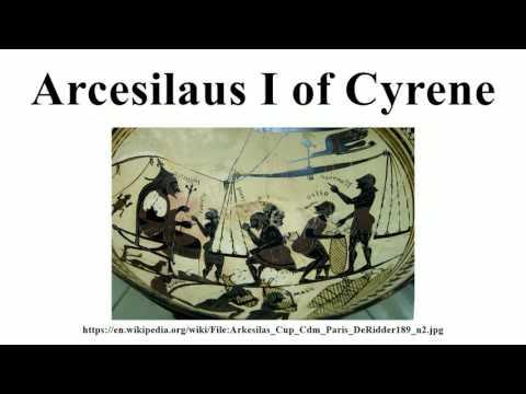 Arcesilaus I of Cyrene