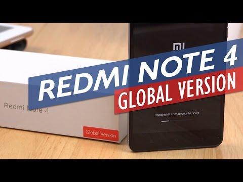 Xiaomi Redmi Note 4 Global Version Unboxing