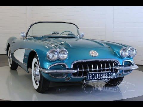 Chevrolet Corvette C1 1959 Video Erclassics Youtube
