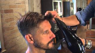 How to Use #TheMensGroomer Round Brush