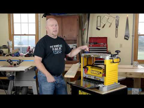 Dewalt DW734 Unboxing and Initial Thoughts