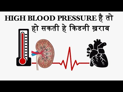 Blood Pressure Can Cause Kidney Damage   In Hindi