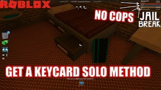 Roblox: JailBreak: How to Get Keycard when you are ALONE IN SERVER | Get SWAT Gun WITHOUT GAMEPASS