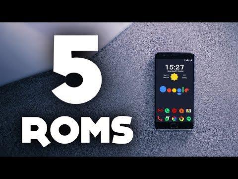 Top 5 BEST Custom ROMs in 2017 ! (Flasholic Special)