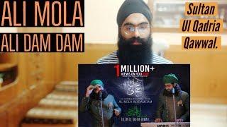 Indian Reaction on ALI MOLA ALI DAM DAM Amazing Qawwal Punjabi Gabruus