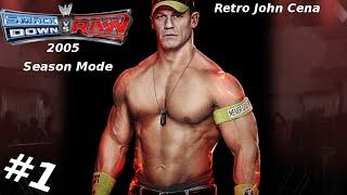 Smackdown VS Raw  Season Mode : John Cena Episode 1 - WORD LIFE
