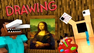 Monster School: Drawing 2 - Minecraft animation