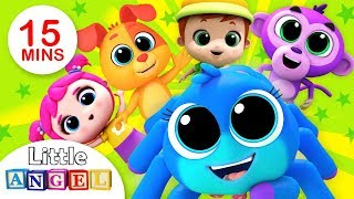 Popular Kids Songs 3D Compilation (VOL1) | Itsy Bitsy, No No +More Nursery Rhymes by Little Angel