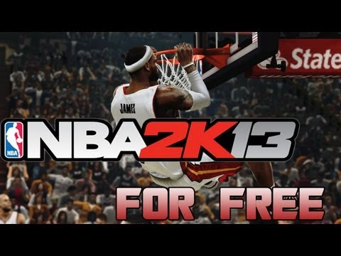 How To Get NBA 2K13 For Free For PC! + Gameplay