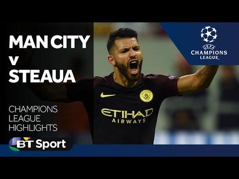 Steaua Bucharest 0-5 Manchester City | Highlights