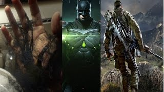 Upcoming Games 2017 Injustice 2 Outlast 2 Prey Sniper Ghost Warrior 3