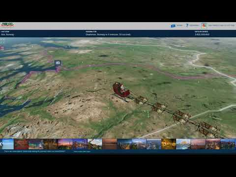 NORAD Santa Tracker Gameplay and Commentary