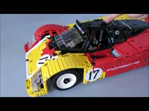 lego porsche 962 c 1988 rebrick porsche contest entry. Black Bedroom Furniture Sets. Home Design Ideas