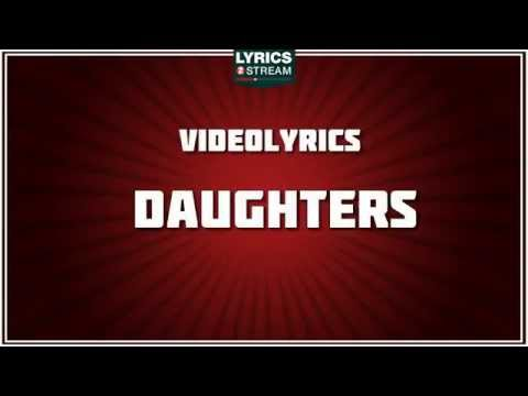 Daughters - John Mayer Tribute - Lyrics