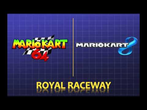 Mario Kart 8 - Retro Track Theme Comparisons (Then and Now)